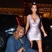 Kim Kardashian : Beauté scintillante avec Kanye West au défilé Versace
