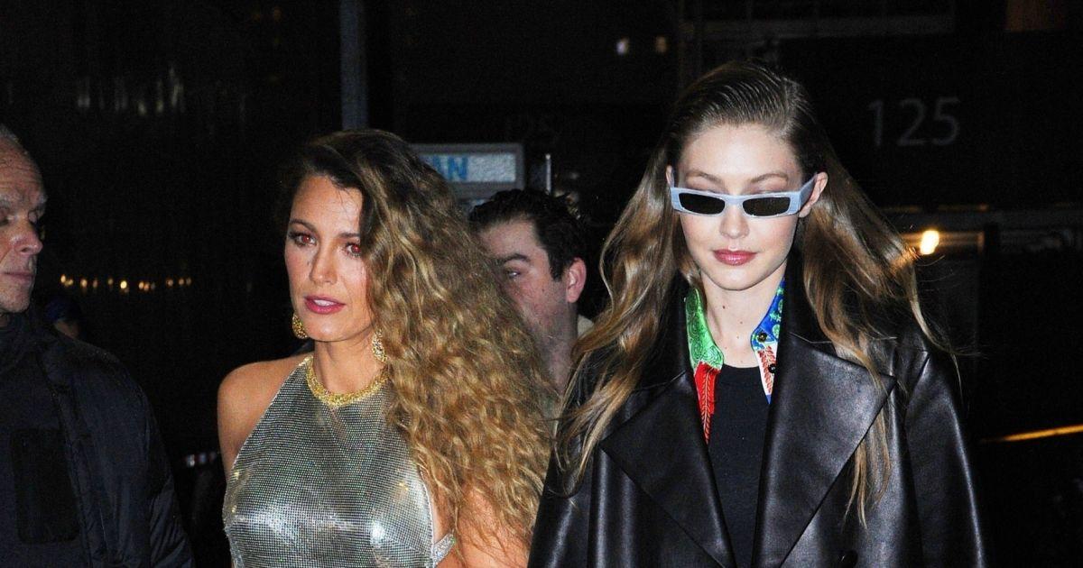 Gigi Hadid et Blake Lively - Défilé Versace (pré