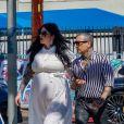 Exclusif - Kat Von D et son mari Rafael Reyes vont déjeuner à Los Angeles le 8 septembre 2018.