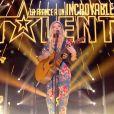 """Déborah Biver - """"La France a un incroyable talent 2018"""". Sur M6, le 4 décembre 2018."""