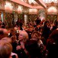 """Exclusif - Atmosphère à l'after-party du film """"Holy Lands"""" au restaurant le Beefbar (Rue Marbeuf dans le 8ème arrondissement) à Paris, France, le 4 décembre 2018. © Rachid Bellak/Bestimage"""