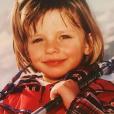 Camille Cerf à l'âge de 10 ans, une photo révélée le 5 décembre 2018.