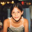 Iris Mittenaere à l'âge de 10 ans, un cliché dévoile le 5 décembre 2018.