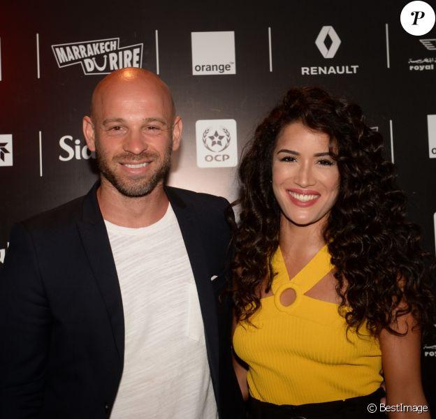 """Exclusif - Franck Gastambide et Sabrina Ouazani - Les célébrités lors du festival """"Marrakech du Rire 2018"""" à Marrakech, Maroc, le 24 juin 2018. © Rachid Bellak/Bestimage"""