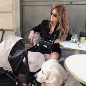 Caroline Receveur : Mince, radieuse, sensuelle... Une vraie sexy mama