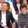 """Catherine Laborde et Marc-Olivier Fogiel, le 12 décembre 2018 dans """"Ça commence aujourd'hui"""" sur France 2."""