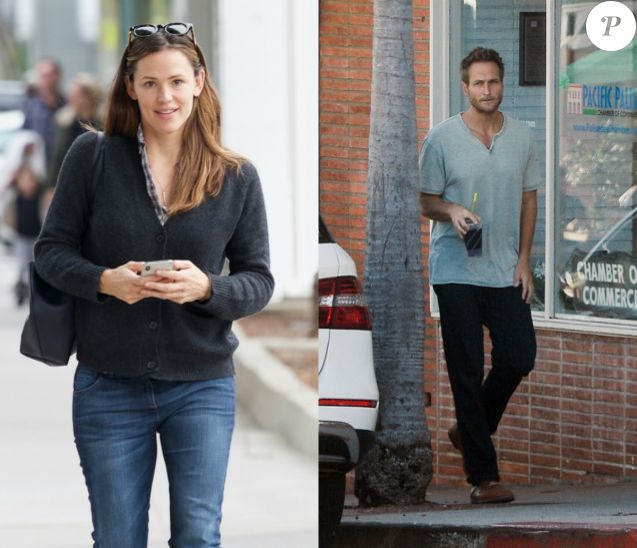 Jennifer Garner et son nouveau petit ami John Miller.