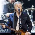 Paul McCartney en concert à Copenhague au Danemark le 30 novembre 2018.