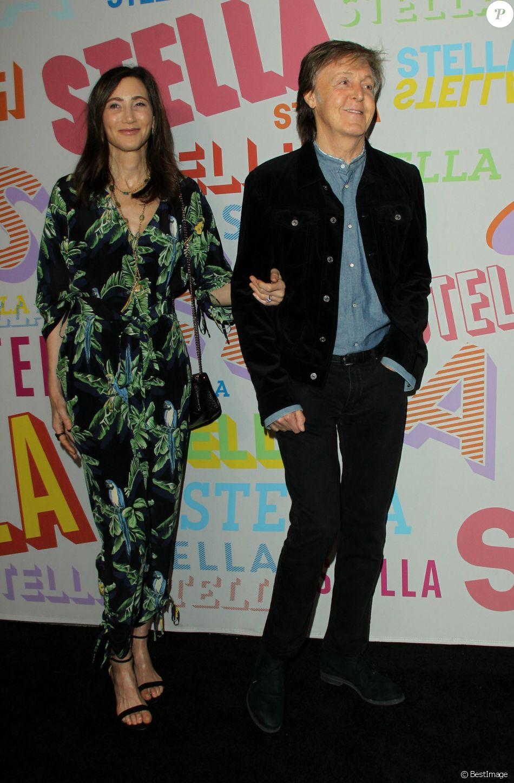 Paul McCartney with wife Nancy Shevell - Soirée de