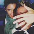 Alice Taglioni et Laurent Delahousse. Photo publiée sur Instagram le 15 août 2018.