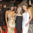 Estelle Desanges, Tina Lys et Carla Nova lors de la présentation du film Jusqu'en Enfer le 20 mai 2009 durant le 62e Festival de Cannes