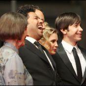 Justin Long à Cannes sans Drew Barrymore mais... avec des stars du X !