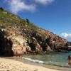 Alessandra Sublet, séparée : Noël au soleil, sa fille Charlie s'amuse à la plage