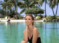 Sylvie Tellier, maman épanouie à Bora-Bora : Son bébé Roméo chouchouté !