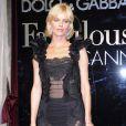 Eva Herzigova à la soirée Dolce & Gabbana