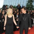 Laetitia Casta et son mari Stefano Accorsi lors du 62e Festival de Cannes