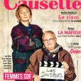 """Carinne Masiero et Marianne en couverute de Causette pour la sortie du film """"Les Invisibles"""", le 9 janvier 2019."""