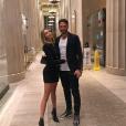 Nabilla à New York en ce tout début d'année 2019. Ici avec son fiancé Thomas Vergara.