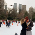 Nabilla à New York en ce tout début d'année 2019. Ici avec son amoureux Thomas !