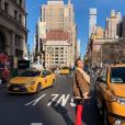 Nabilla à New York en ce tout début d'année 2019.