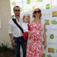 Jason Priestley, sa femme Naomi et leur fille Ava