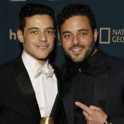 Rami Malek (Bohemian Rhapsody) : Son jumeau Sami à ses côtés pour sa victoire