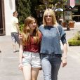 Melanie Griffith et sa fille Stella (23 mai, Los Angeles)