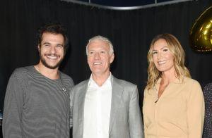 Didier Deschamps tout sourire avec Amir et Vitaa pour les Pièces jaunes