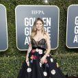 Heidi Klum et son fiancé Tom Kaulitz - 76e cérémonie annuelle des Golden Globe Awards au Beverly Hilton Hotel à Los Angeles, le 6 janver 2019.