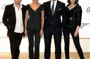 Daniel Craig, Matthieu Amalric, Olga Kurylenko : les premières photos de l'équipe du prochain James Bond