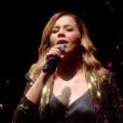 """Chimène Badi qualifiée lors de la première demi-finale de """"Destination Eurovision"""" diffusée le 12 janvier 2019 sur France 2."""