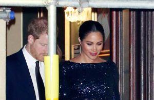Meghan Markle : Nouvelle soirée à deux au théâtre en robe à paillettes
