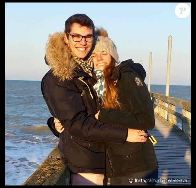 """Charles du """"Meilleur Pâtissier"""" et sa petite amie Ava à Caen - Instagram, 20 novembre 2018"""