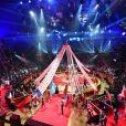 Le Ballet du cirque royal de Russie de Gia Readze le 17 janvier 2019 lors de la soirée d'ouverture du 43e Festival international du cirque de Monte-Carlo, sous le chapiteau de Fontvieille. © Bruno Bebert/Pool Monaco/Bestimage