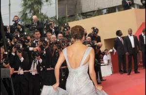 Mais qui se cache donc derrière ces robes de rêve ? Si vous avez bien suivi le Festival de Cannes, devinez !
