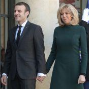 Brigitte Macron face au froid en petite robe pour le Premier ministre québécois