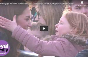 Kate Middleton : Ce moment adorable avec une fillette fan de ses cheveux