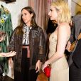 Amanda Seyfried, Delfina Delettrez Fendi, Emma Roberts - Soirée #BaguetteFriendsForever de FENDI au magasin FENDI sur Madison Avenue. New York, le 7 février 2019.