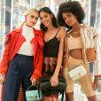 Caro Daur, Melissa Martinez, Ebonee Davis - Soirée #BaguetteFriendsForever de FENDI au magasin FENDI sur Madison Avenue. New York, le 7 février 2019.