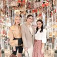 Leonne Hanne, Brittany Xavier, Olivia Perez - Soirée #BaguetteFriendsForever de FENDI au magasin FENDI sur Madison Avenue. New York, le 7 février 2019.