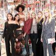 Melissa Martinez, Ebonee Davis, Devon Windsor - Soirée #BaguetteFriendsForever de FENDI au magasin FENDI sur Madison Avenue. New York, le 7 février 2019.