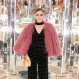 Olivia Palermo - Soirée #BaguetteFriendsForever de FENDI au magasin FENDI sur Madison Avenue. New York, le 7 février 2019.