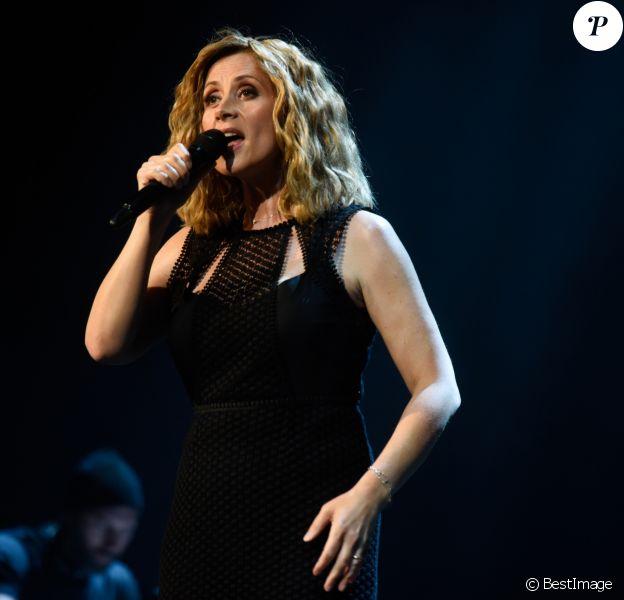 Lara Fabian en concert au Zenith de Paris, France, le 16 juin 2018. © BOV/Bestimage