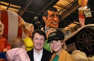 Christian Estrosi complice avec sa femme et sa fille pour une visite privilégiée