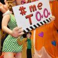 Exclusif - Christian Estrosi (le maire de Nice), sa femme Laura Tenoudji Estrosi et leur fille Bianca ont visité l'atelier des Carnavaliers à Nice le 9 février 2019, pour décourvrir les chars du Carnaval de Nice 2019 © Bruno Bebert/Bestimage