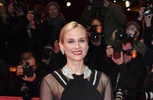 Diane Kruger joue avec la transparence pour briller à Berlin