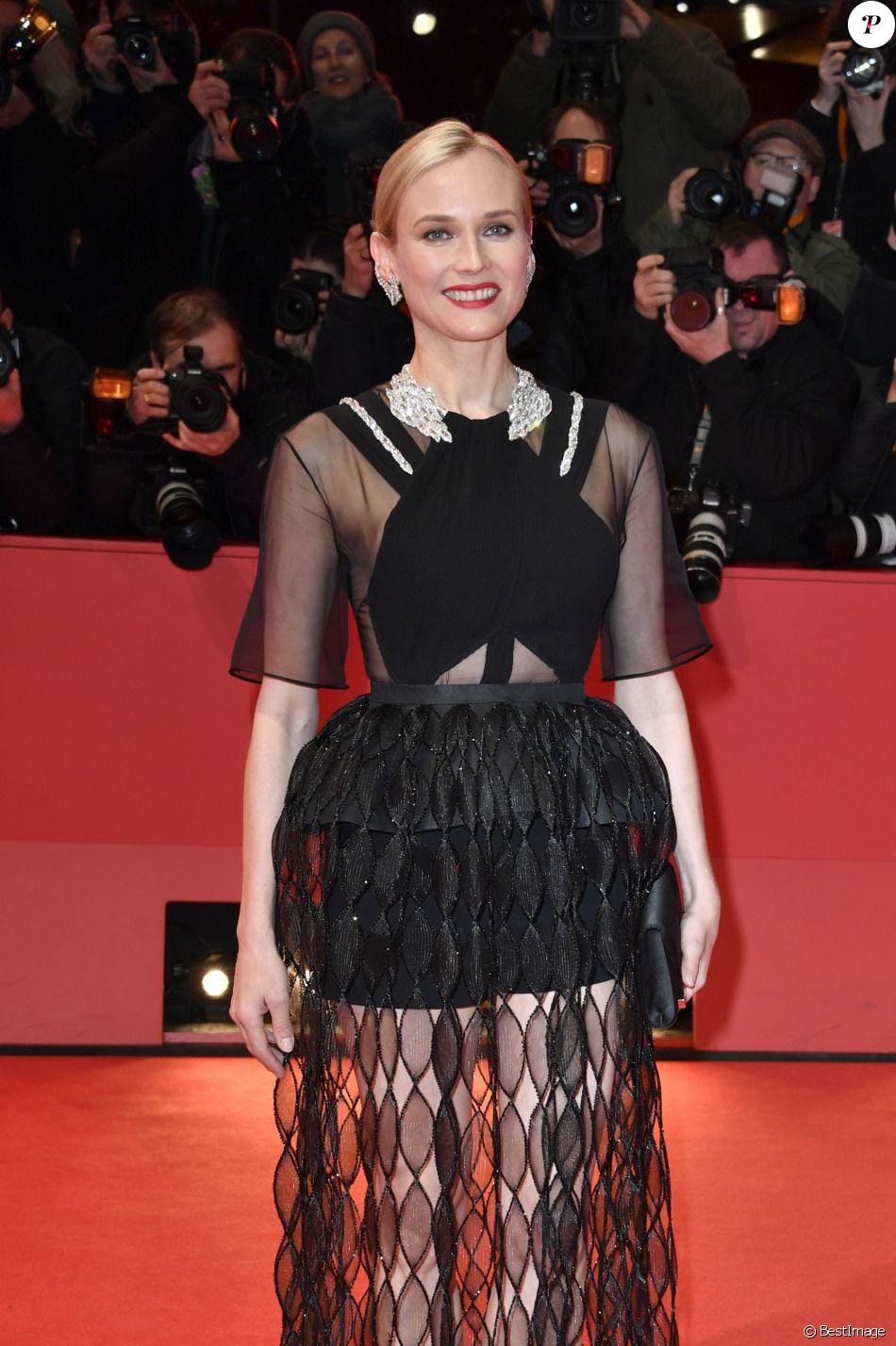 """Diane Kruger (tenue Givenchy) - Première du film """"The Operative"""" lors du 69ème Festival International du Film de Berlin, La Berlinale. Le 10 février 2019 10/02/2019 - Berlin"""