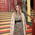 Karrueche Tran - Les célébrités arrivent au défilé de mode Alice & Olivia lors de la Fashion Week à New York, le 11 février 2019