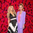Paris Hilton, Nicky Hilton Rothschild au photocall du défilé Alice and Olivia lors de la Fashion Week automne-hiver 2019/2020 à New York, le 11 février 2019. © Sonia Moskowitz/Globe Photos/Zuma Press/Bestimage