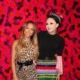 Karrueche Tran, Stacey Bendet au photocall du défilé Alice and Olivia lors de la Fashion Week automne-hiver 2019/2020 à New York, le 11 février 2019. © Sonia Moskowitz/Globe Photos/Zuma Press/Bestimage